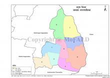 Kamala Municipality Map